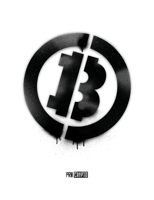 Bitcoin Stencil