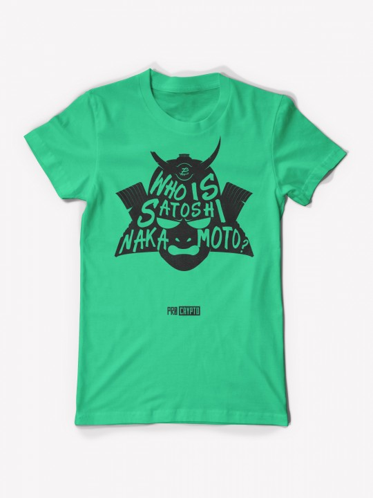 Who Is... NAKAMOTO!? - Mint T-shirt