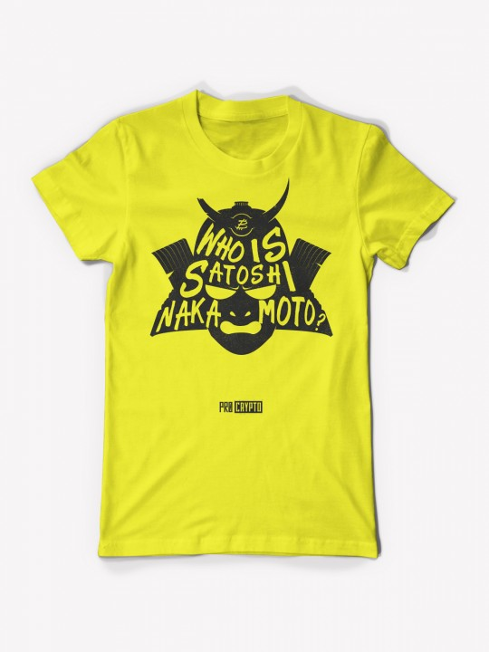 Who Is... NAKAMOTO!? - Yellow T-shirt