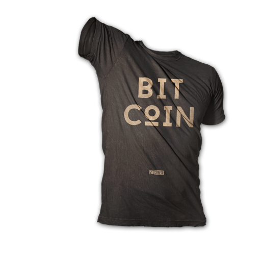 Bitcoin T-shirt Hero Pose