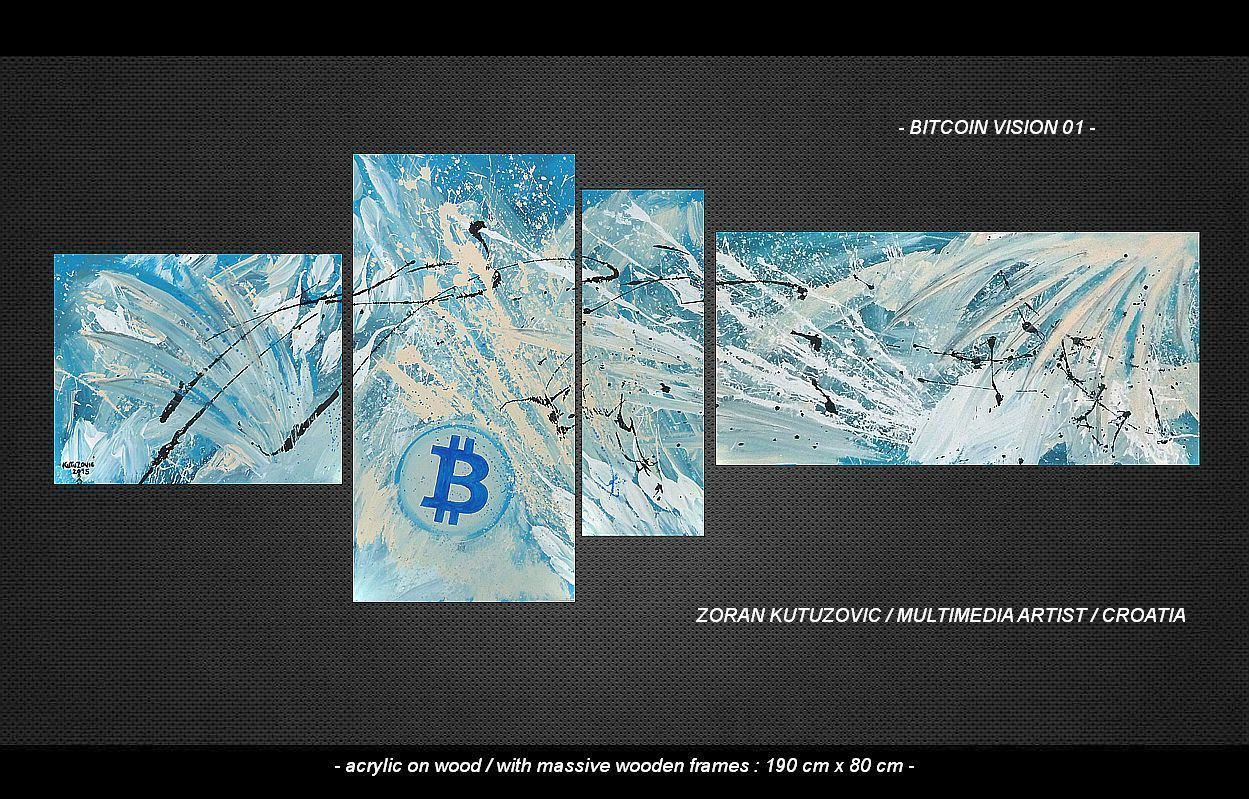 Bitcoin Vision 01 by Zoran Kutuzovic
