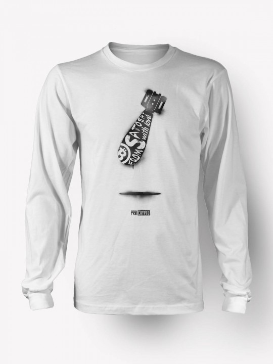 From Satoshi with Love -- Longsleeve T-shirt