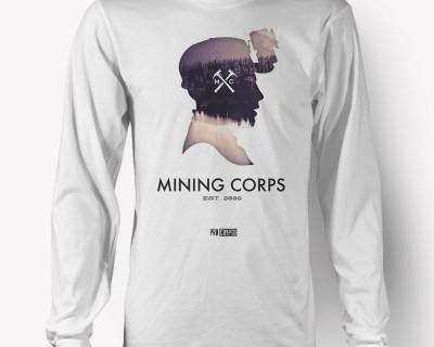 The Miner -- Longsleeve T-shirt