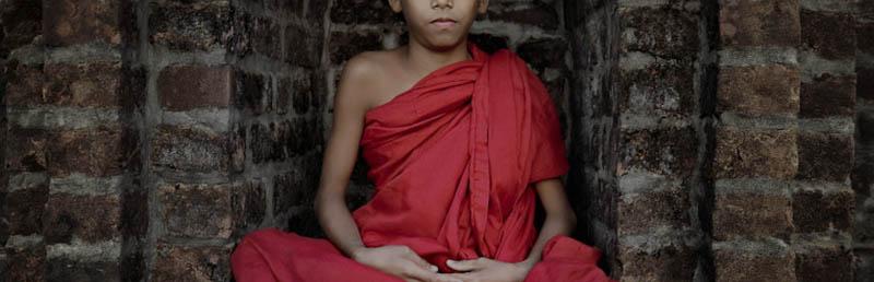 Blog Link Banner Clip - Little Monk