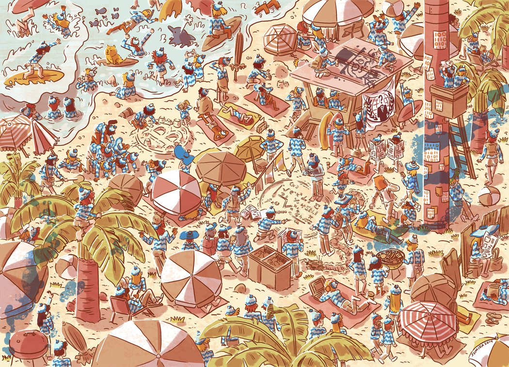 Where's Satoshi Nakamoto by Nick Sumida