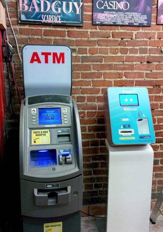 Lamassu Bitcon ATM in Montreal