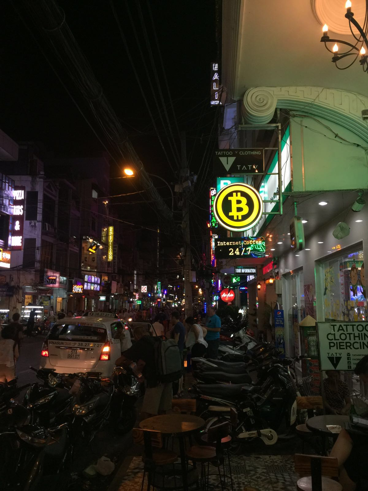 Bitcoin Sign in Vietnam